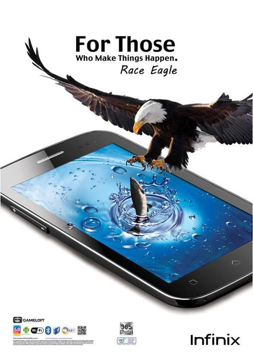 Image result for Infinix Race Eagle x500