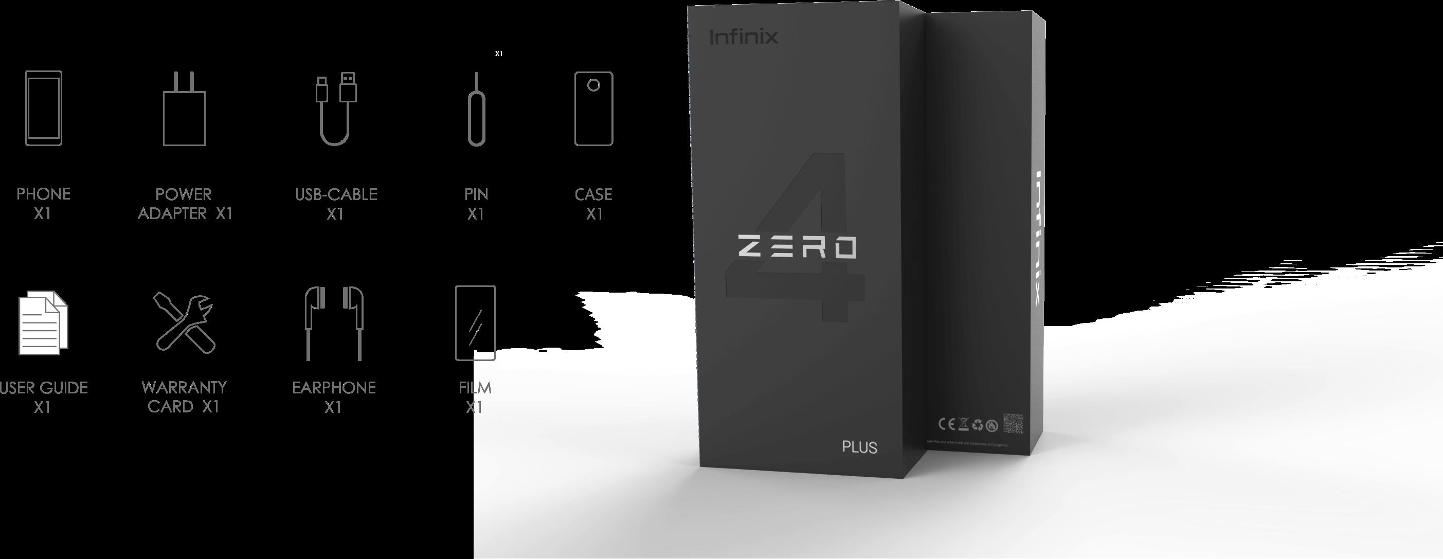 Unboxing infinix zero 4 plus
