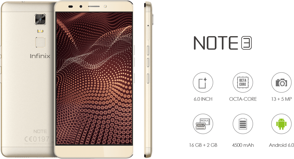 Infinix Note 3 price in Nigeria