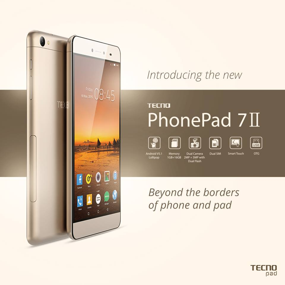 Tecno Phonepad 7II price