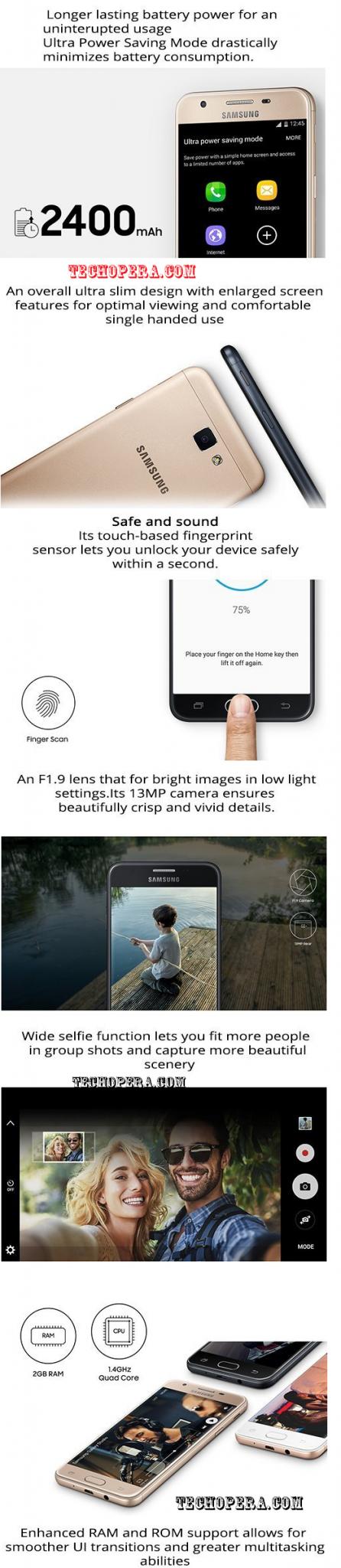 Samsung Galaxy J5 Prime Infographic