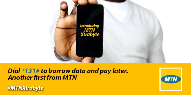 How To Borrow Data On MTN