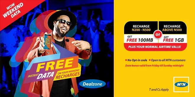MTN Wow Weekend data