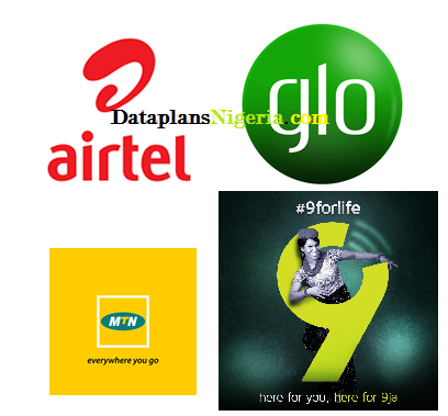 borrow data from mtn, airtel, glo and 9mobile