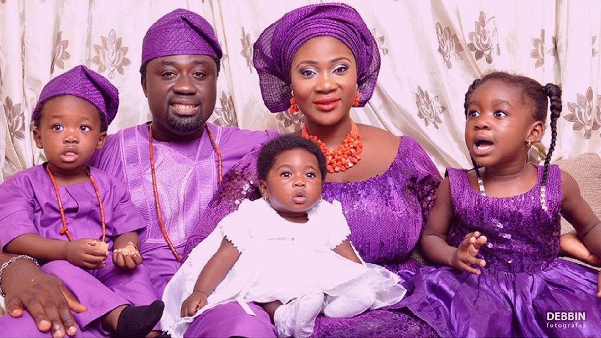 Mercy Johnson Family