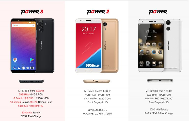 Ulefone Power 3 Smartphone Features | Specs | Price