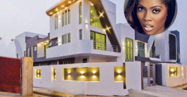 tiwa savage house in Lekki