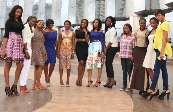 Linda Ikeji helping Young Ladies in Nigeria