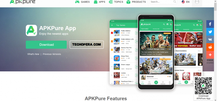2019: APKPure App download for Android Phones Review – Full apk Downloader