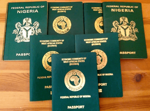 Cost Of New Nigerian International Passport