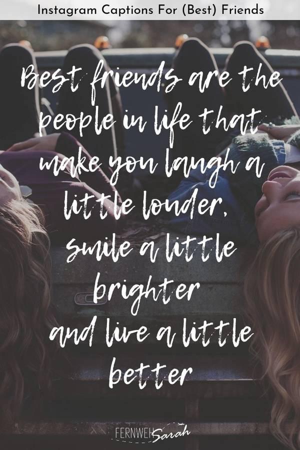 friendship caption for Instagram