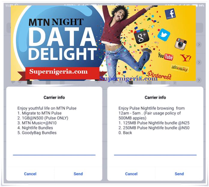 MTN Night plan