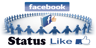 facebook status for likes and comments