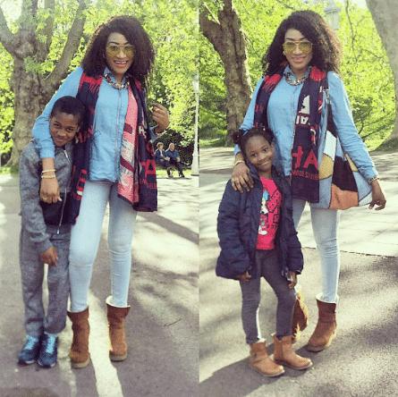 Oge Okoye children