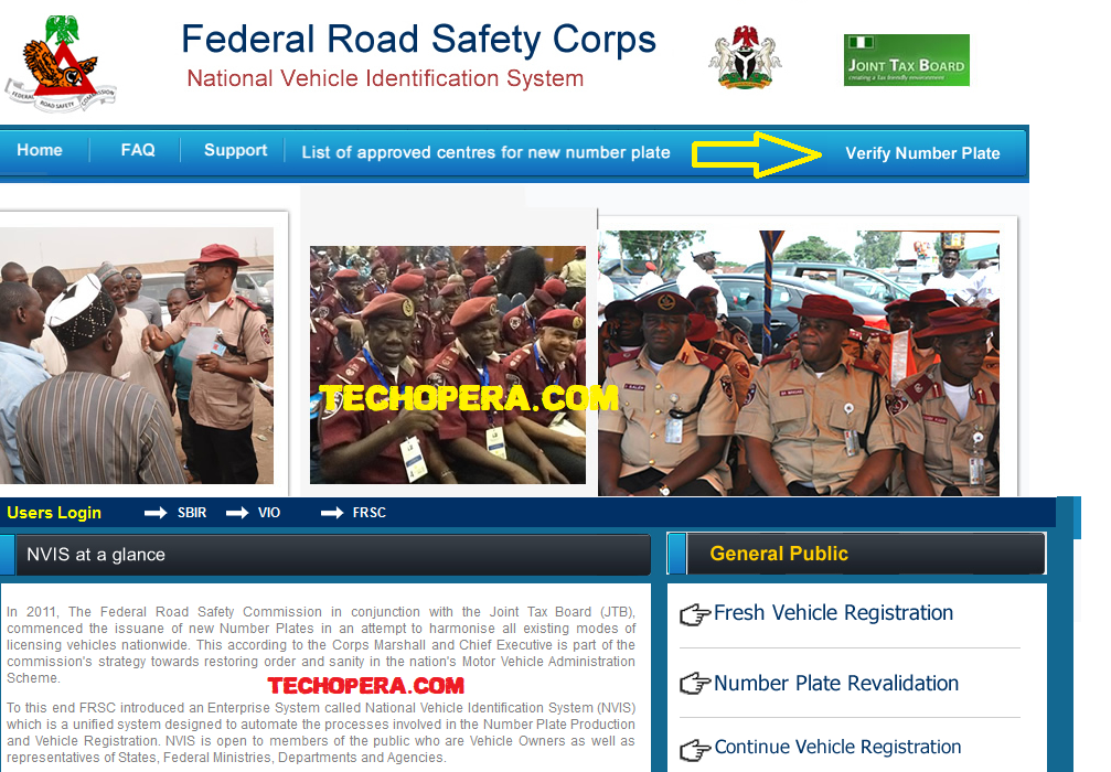 verify plate number online