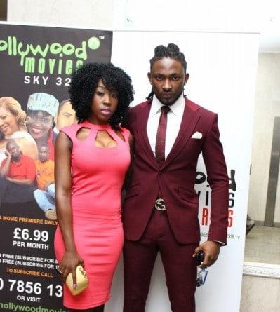 Beverly Naya and Uti Nwachukwu