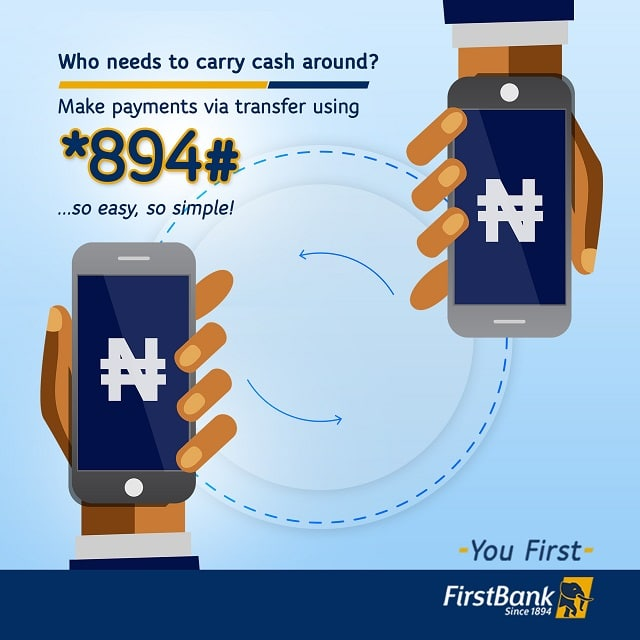 Buy Data Packages and Airtime with First Bank