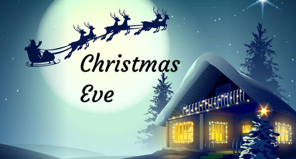 Christmas eve status