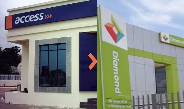diamondaccess bank transfer code