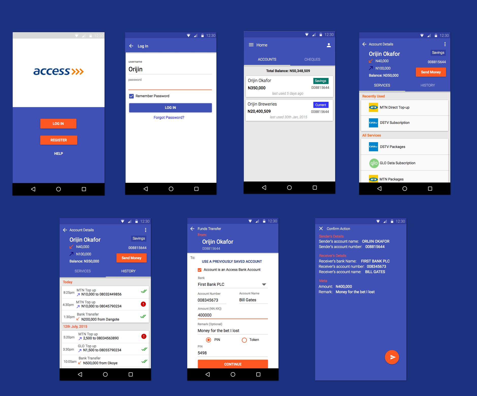 download access bank mobile app