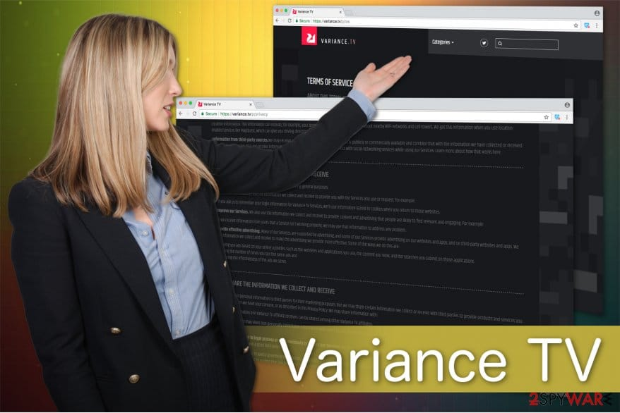 how to remove variance tv adware program