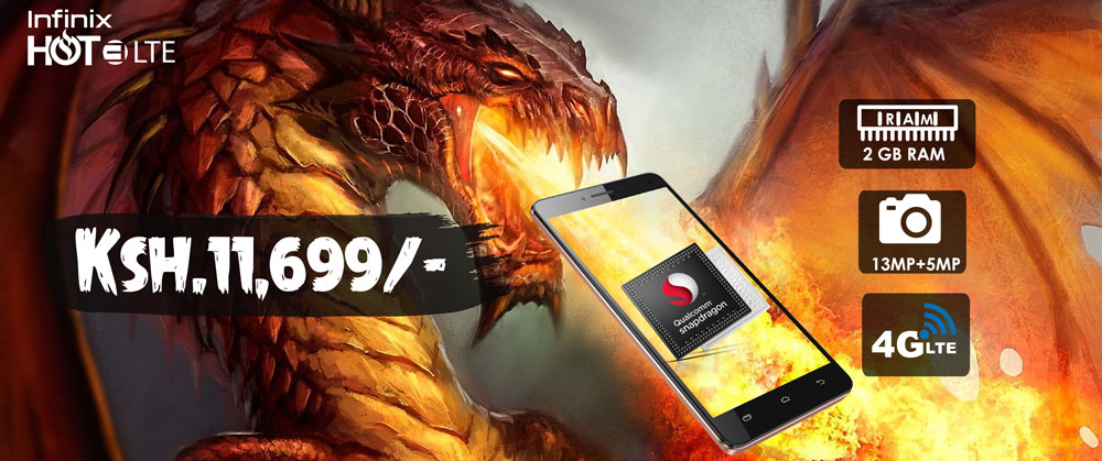 Infinix Hot Dragon Hot 3 LTE