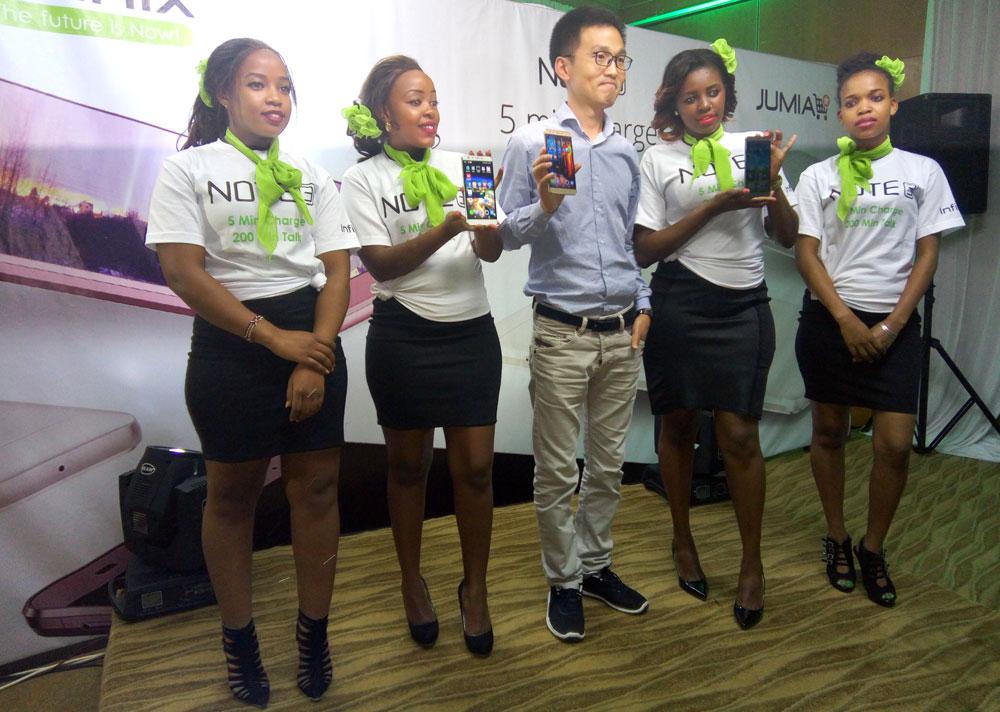 Infinix Note 3 Launch pictures in Kenya