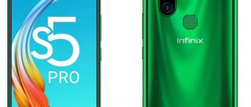 Infinix S5 Pro price