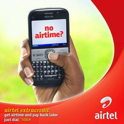 borrow airtime from Airtel