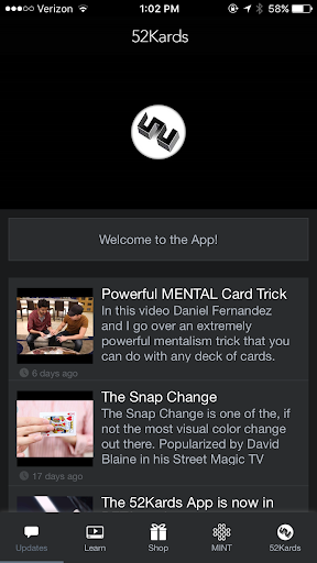 52Kards magic apps