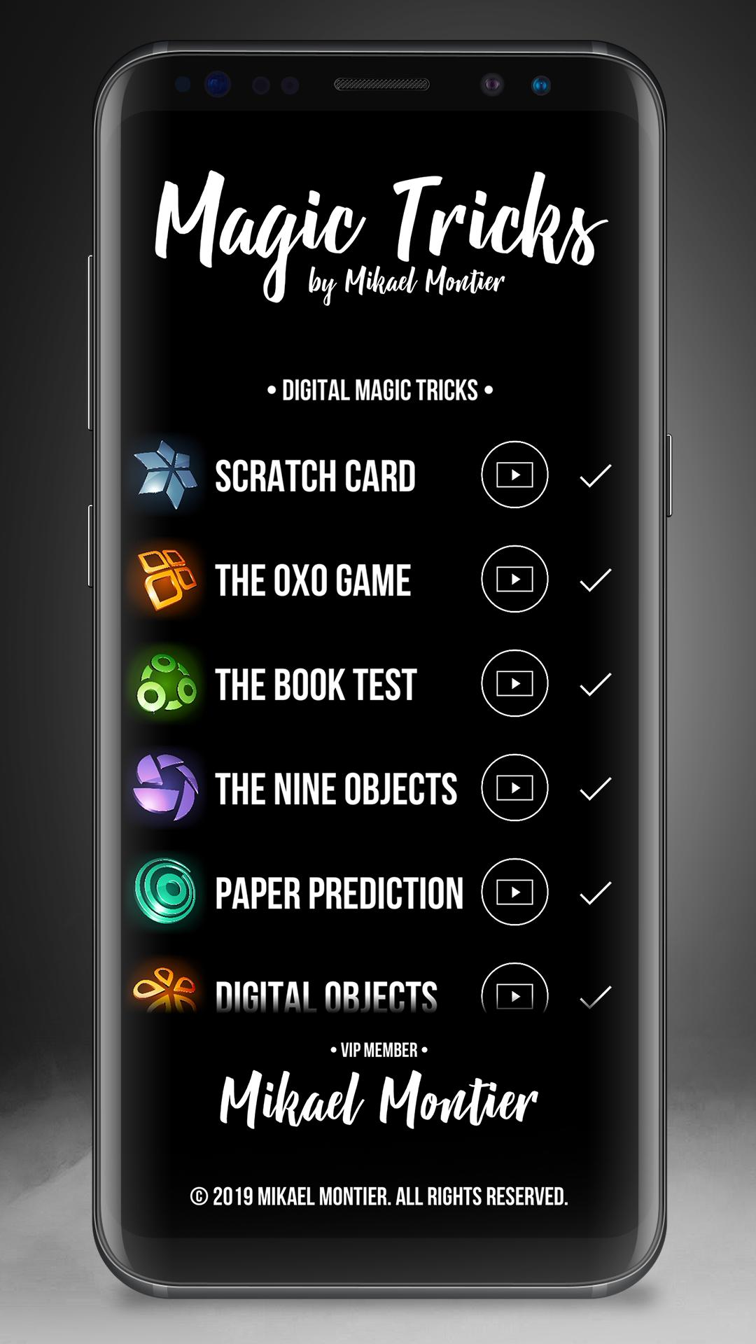android magic apps trick