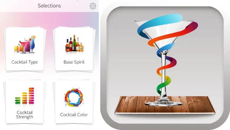 cocktail flow party planner app